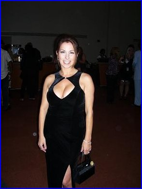 South Florida's very own blues radio hostess with - as you can clearly see - the mostess
