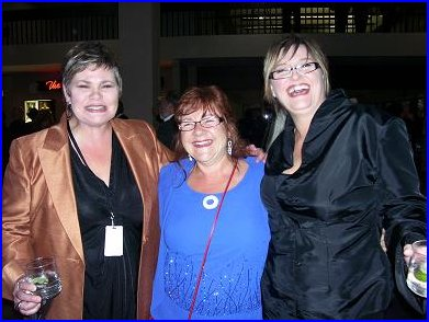 This trio was just looking for trouble....too bad they didn't find me! (L-R) Lovely Karen Lovely, 'Saxy