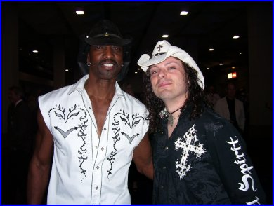 So was this Two Hatted Duo (Dennis Jones & Anthony Gomes)