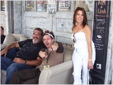 Rich Del Grosso, Jason Ricci and Dar from