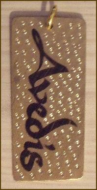 Ink Pendant