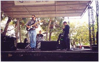 Blues guitarist Albert Castiglia