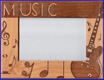 music theme frame