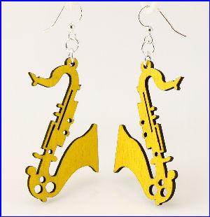 Saxophone Earrings