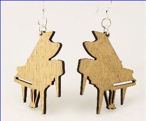 Grand Piano Earrings