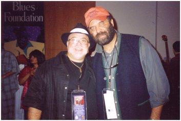 Pete the Blewzzman with  OTIS TAYLOR