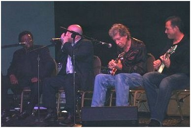 Finis Tasby, Kim Wilson, Elvin Bishop and Tommy Castro