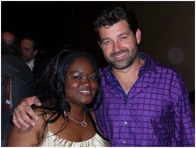 Shemeka Copeland and Tab Benoit