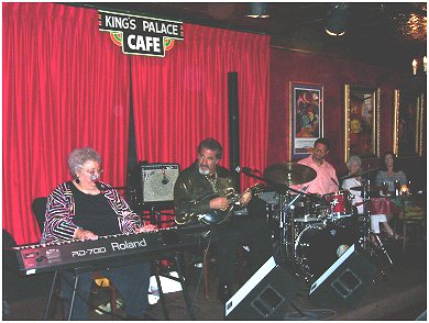 Ann Rabson, Rich DelGrosso at Kings Palace Cafe