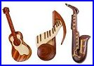 Music Instrument magnets and gifts