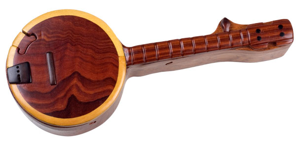 Wooden Banjo Puzzle Box - $29.99 (Free Shipping)