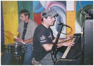 Boogie Woogie Blues Pianist Clark Stern