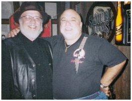 Blewzzman and Gary, Owner of Blue Bayou Club