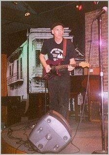 Guitarist Dave Renson