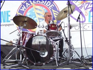 Jimmy Tucci on Drums