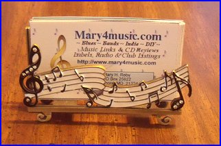 Musical Business CardHolder