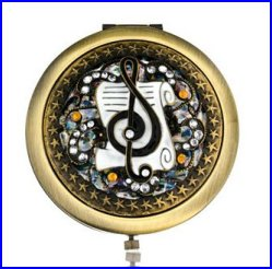 Music Design Compact Mirror